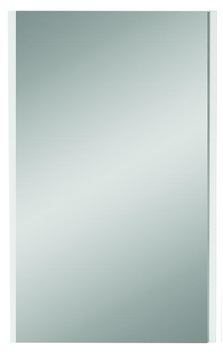 Зеркало Йота 50 Белый глянец - купить в Чебоксарах по цене 2 250 Р в интернет-магазине Marka