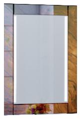 Зеркало Glass 60*80 Wood - купить в Чебоксарах по цене 7 380 Р в интернет-магазине Marka